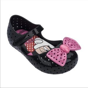 Mini Melissa Toddler Girls Bow Knot Jelly Shoes 9
